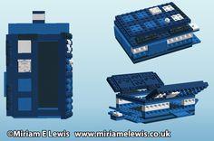 Boitier Lego Tardis http://miriamelewis.blogspot.fr/2012/02/raspberry-pi-lego-case.html