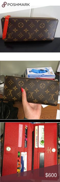 2c7938f357f86 Louis Vuitton Adele wallet  clutch Beautiful condition comes with box