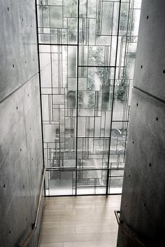 fiore-rosso: Tadao AndoShiba Ryotaro Memorial Museum Higashiosaka, Japan #architecture #windows #design