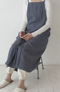 archive (evam eva) / evam eva|kondo knit co.,ltd...another apron-like, wrap jumper