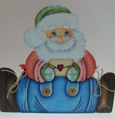 Cachepô pai Natal