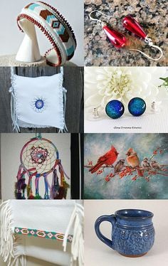 Red, White and Blue by Pam on Etsy--Pinned with TreasuryPin.com