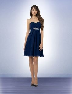 Bridesmaid Dress Style 767 - Bridesmaid Dresses by Bill Levkoff This dress in navy