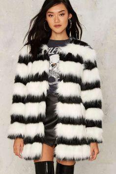 De Vil Faux Fur Coat