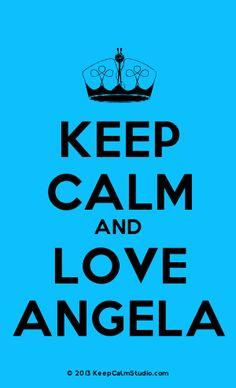 [Knitting Crown] Keep Calm And Love Angela