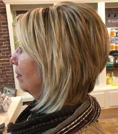 80 Best Modern Hairstyles and Haircuts for Women Over 50 - - 80 Best Hairstyles for Women Over 50 That Take Off 10 Years Short Medium Layered Haircuts, Layered Haircuts For Women, Short Hair With Layers, Hairstyles Over 50, Modern Hairstyles, Short Bob Hairstyles, Layered Hairstyles, Curly Haircuts, Hairstyles Haircuts