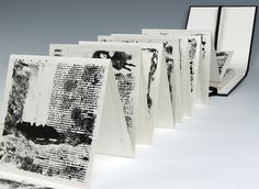 Stephen Livingstone, Artist in Durham, North East - Members Concertina Book, Accordion Book, Up Book, Book Art, Mountain Drawing, Book Sculpture, Book Journal, Journals, Book Projects