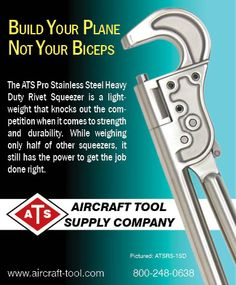 www.aircraft-tool.com 1-800-248-0638 Sport Aviation Magazine