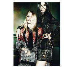 Roberto Cavalli F/W 2031/2014: Liya Kebede, Iselin Steiro, Liu Wen by Mario Testino   The Fashionography