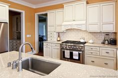Classy Kitchen & Bath is a leading supplier of quality, custom kitchen and bath design, cabinets and countertops. White Kitchen Sink, Kitchen Island With Sink, Classic White Kitchen, Kitchen And Bath Design, Kitchen Backsplash, Kitchen Designs, Beach Kitchens, White Kitchens, Dream Kitchens