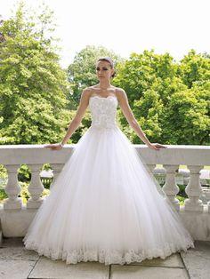 Charming weiß / Elfenbein Brautkleid / Hochzeitskleid Size Dress / Party 34/44 +   eBay