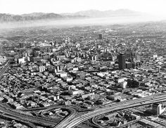 Downtown Los Angeles in the mid-1960s. (USC Archive)
