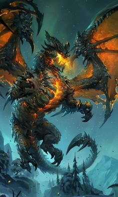 Jeu : World of Warcraft / Deathwing / http://wow.gamepedia.com/Deathwing