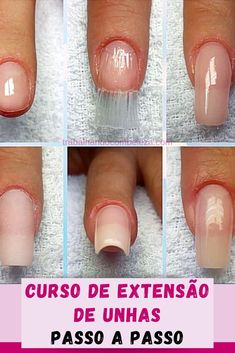 Nail Designer, Grunge Nails, Manicure E Pedicure, Nail Tutorials, Nail Art, Make It Yourself, Beauty, Apd, Gel Nails Pictures
