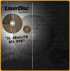 Laser Disc, el abuelito del DVD  www.bublibubli.com.mx