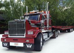 Model Truck Kits, Model Kits, Western Star Trucks, Toy Trucks, Best Model, Semi Trucks, Diecast Models, Kustom, Scale Models