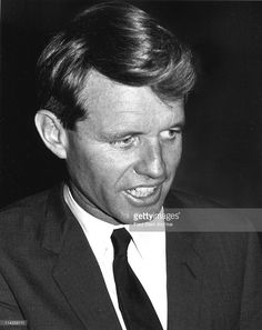 Portrait of American politician and US Attorney General Robert F. Kennedy (1925…
