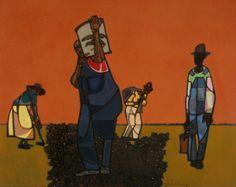 Itinerant farmer - Robert Gwathmey
