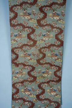 Silk Brocade Panel, Late 18th C.<br /> Session 1 - Lot 194