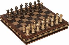 Buy Unique Marble Chess Set With Game Board - Great For Gift At Wildorchidquilts.Net