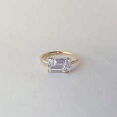 Art Deco Diamond Rings, Unique Diamond Rings, Diamond Jewelry, Silver Jewelry, High Jewelry, Cute Jewelry, Jewelry Accessories, Jewelry Design, Engagement Ring Cuts