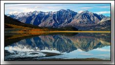 Kluane Lake, Yukon  Yes it is really this beautiful.  I so agree with you.