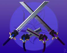 Indigo Stormcrest (RWBY OC weapon) by JackBryanReynard.deviantart.com on @DeviantArt