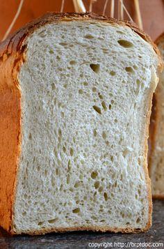 Buttermilch-Sandwichbrot brotdoc *******mega lecker. 24 Stunden vorher Vorteig ansetzen.