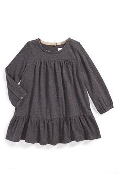 Burberry Long Sleeve Dress (Baby Girls) available at #Nordstrom