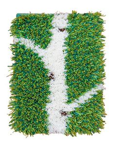 Vesa Rya Rug, Latch Hook Rugs, Punch Needle, Rug Hooking, Fiber Art, Textiles, Embroidery, Cosy, Barbie