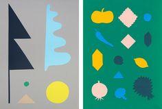 Beautiful cut paper pieces by Liam Stevens