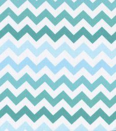 Keepsake Calico Fabric-Blue Ombre ChevronKeepsake Calico Fabric-Blue Ombre Chevron, - toot sweets