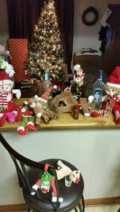 Drinkin elves! Elf on shelf