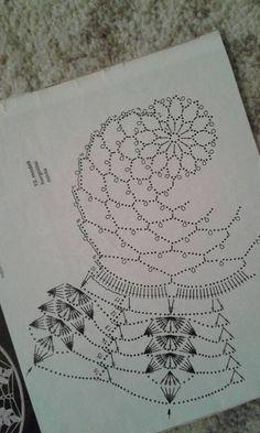 Kira scheme crochet: Scheme crochet no. Motif Mandala Crochet, Crochet Circles, Crochet Motifs, Crochet Diagram, Crochet Dollies, Crochet Wool, Crochet Round, Irish Crochet Patterns, Doily Patterns