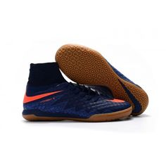 timeless design c580e 818f1 Nike Hypervenom - Nike HypervenomX Proximo IC Blå brown Orange