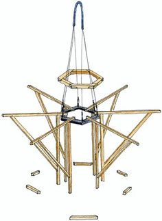 Non invasive treehouse Framework
