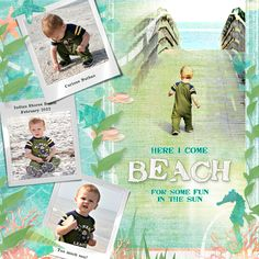 Sea Life's Beauty Collection Mini, designed by Cindy Rohrbough, Scrap Girls, LLC digital scrapbooking product designer