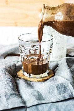 Vegan Chocolate Cream Soda via Artful Desperado