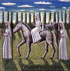 Pamela June Crook MBE (b.1945) — The Brides (793×800)