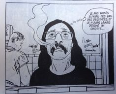"""José Muñoz, Alack Sinner. """"Drawing comics for 15 years, and I never had to draw a bathroom"""""""