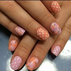 Spring inspired nails done at @SimpleSolitude in Vancouver, WA!