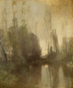 In the Gloaming, Robert MacAulay Stevenson. American (1854 - 1952)