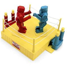Loved to play this with my brother when we were kids. Rock 'em Sock 'em Robots Game