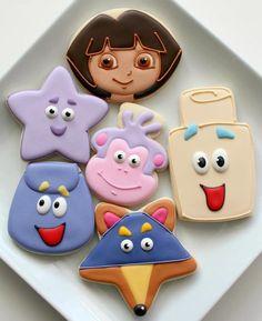 Dora - Sweet Sugar Belle Cookies
