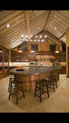 Great room kitchen