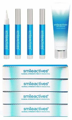 Unlike strips and trays, the Smileactives Clinical Strength Tooth Whitening Pen can be used to whiten in between teeth and only those teeth that need whitening the most. Whitens teeth anytime and anywhere - right after you brush your teeth, or on-the-go when you can't brush.