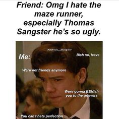 Thomas Brodie- Sangster --> YOU DID SAY THAT TO MY FACE, YOU LITTLE $LUT, THOMAS IS THE MOST ADORABLE MAN ON THE PLANET D:<<<<PREACH