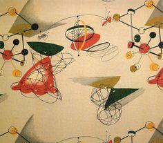 twobyone: 1950's Textile design