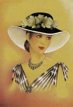 The lady in a hat ... Trio | Pretty Bonnet. Discussion on LiveInternet - Russian Service Online Diaries
