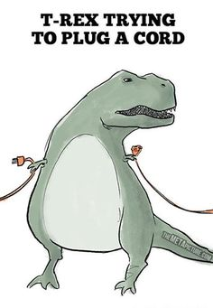 T-Rex: The Struggle WAS Real - 18 Pics